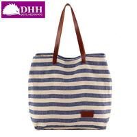 2014 women's handbag fashion stripe messenger bags shoulder bag women's the trend of canvas bag #2092