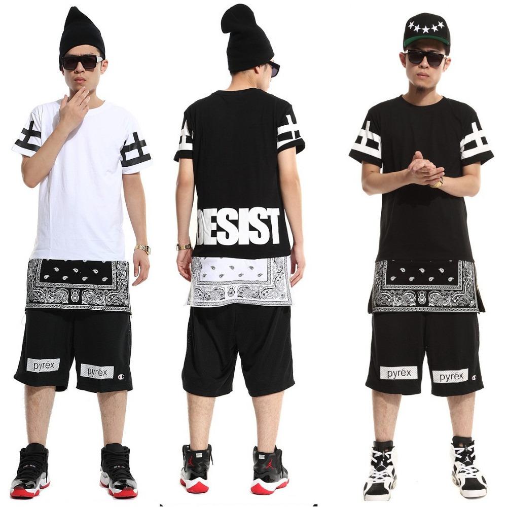 ktz rhude bape hood by air bandana shirt skateboard pyrex women men hiphop clothes boys Hip hop dance Clothes zipper hba t shirt(China (Mainland))