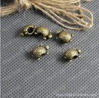 100pcs/lot 15*10*8MM  Zinc alloy bead Antique Bronze Plated big hole bead Jewelry Findings JJA1300