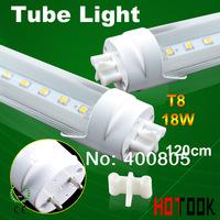G13 T8 led Tube Light 18W 2835smd 1200mm 120CM 2835 LED Tube Lamp 85V~265V warranty 2 years CE RoHS  x 30 PCS