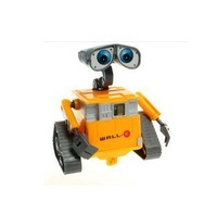 Hot Sale cute Toys 12cm Robot WALL E toy figures opp package 5pcs/lot gift for kids