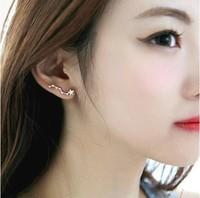 Free shopping 925 pure silver zhaohao stud earring female earrings