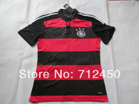 HOT sell top Thailand Quality Fans version 2014 World Cup Germany away OZIL Muller LAHM GOTZE Reus Soccer Jersey Football shirt