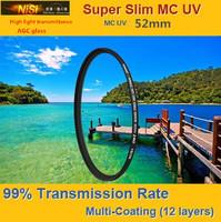 NiSi 52mm Ultra Violet Super Slim Multi-coated Multi-Coating (12 Layers) MC UV Filter For Digital SLR Camera 52 mm LENS