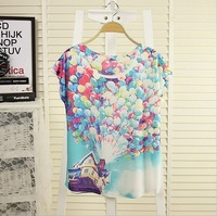 Женская футболка Magic] New Spring and summer short sleeve Casual women's T-shirt COCO print Women fashion clothesTop Tees
