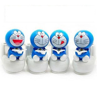 Solar swing doll toilet doll DORAEMON bobble head doll decoration exhaust pipe auto products