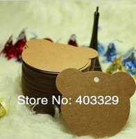Free shipping 400g  Kraft Paper ZAKKA ancient ways paper had tag gift tag