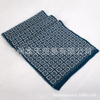 Men's scarves warm scarf winter days irregular lattice models thick cashmere wool scarf wholesale business models