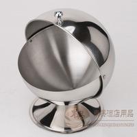 Stainless steel cruet stainless steel seasoning box sucrier stainless steel sugar bowl sucrier kitchen supplies