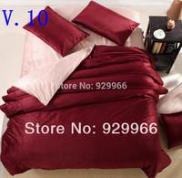 4PCS Hawaii coconut trees sunset bedding set 3d Cotton Duvet quilt comforter cover Queen size Luxury bed sheet Linen sets