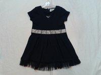 Casual sleeveless vest skirt,popular kids Lapel vest skirt,girl's solid color dress,Princess dress/t-shirt