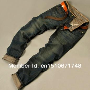 Free Shipping 2013 men's fashion jeans men big sale autumn clothes new fashion brand Men's pants(China (Mainland))