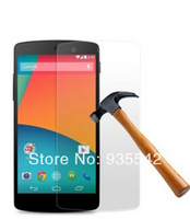 Anti Shatter Guard Film Explosion-Proof Transparency Tempered Glass Screen Protector for Google Nexus 5