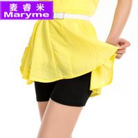 Safety pants female cotton lace seamless modal 1