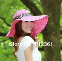 Hollow out hat sun hat Fashion Women's Ladies' Foldable Wide Large Brim Floppy Summer Beach Hat Sun Straw Hat Cap