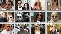 2014 fashion sunglasses Women & Men mirror Lenses Sunglasses Frog mirror..