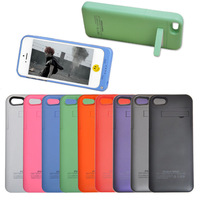 2200mAh External Battery Power Bank Backup Charger Case Cover For iPhone 5/5S Top