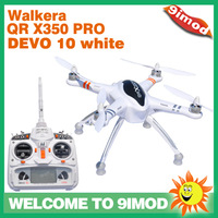 Free Shipping !Walkera QR X350 PRO with White Edition DEVO 10 RTF 2  2.4Ghz Quadcopter RC Drone
