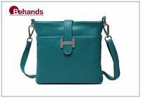 2014 Best Seller Genuine Leather Handbag Fasion Women Shoulder Bags 6 Colors Messenger Purses BH137 Free Shipping