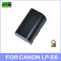 High-quality LP-E6 LPE6 digital camera batteries for canon EOS 5D EOS 60D EOS 7D bateria pil  free shipping 2pcs/lot