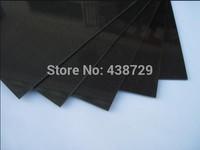 200 x250 x0.2mm Carbon Fiber plate / panel / sheet 3K plain weave with carbon