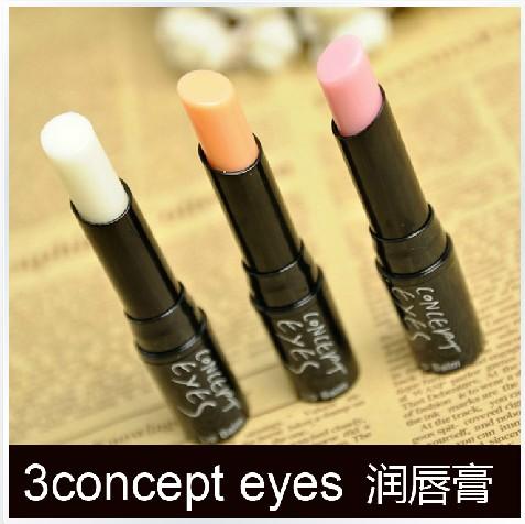 3concept eyes 3ce carotine discoloration light color lip balm lipstick(China (Mainland))