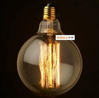Good Price,Fashion Incandescent Edison Pendant Bulb Fixtures,220V/E27,Item G95(A) Bulb,Vintage Filament Edison Decor Light Bulb
