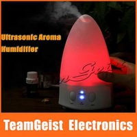 Color-Changing Rainbow LED color Ultrasonic Aroma Air Humidifier Purifier Diffuser Misk Maker For Home Office use Free Shipping