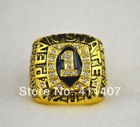 Mixed Order High Quality Replica Sports Silver & Gold 1995 Penn State Rose Bowl Championship Ring