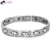 Free shipping Male fashion titanium bracelet accessories fashion all-match 8017