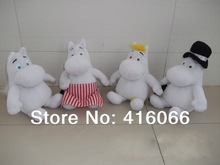 Cartoon moomin!2014 New  Moomin family plush toy Mming  family plush doll for kids and children.Free shipping(China (Mainland))