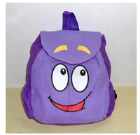 Baby School Bag Cartoon adventurous dora backpacks Plush with Map Girls Kindergarten The Explorer Rescue Bag Wholesale