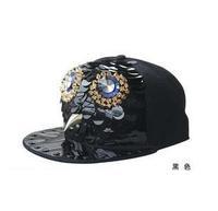 2014 Personalized cute owl baseball cap flat along(freeshipping)