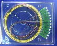 Cheap Wholesale 12 core SC / APC singlemode fiber bundle bundle pigtail cable jumper ODF wispy tail flange pigtail 5pcs/lots