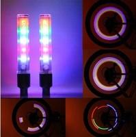 fireflys Bicycle Wheel LED Switch Valve Cap Light Bike Car Motorcycle Tyre Tire Glowing Stick ( 5LED 7Change Mode )