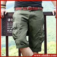Free shipping Summer 2104 Hot sell Mens multi pocket baggy camouflage cargo new style fashion shorts size S M L XL XXL XXXL C888