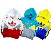 2014 spring new children's hooded pullover sweater jacket wholesale boys/girls hoodies fashion coats