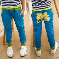 2014 children's spring clothing child clothes male female child trousers sports pants casual pants children's 2d7647