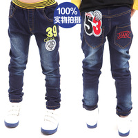 Child baby trousers children's clothing boy jeans male child spring 2014 28d