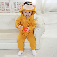 Children suits wholesale 2014 spring new models Clarks rabbit -eyed monkey style leisure suit Q1175