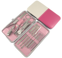 Fashion nail clipper set 12 household nail clipper pedicure knife set d-12