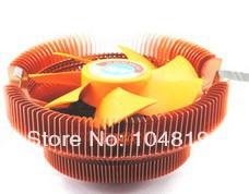 Tony CPU desktop computer CPU radiator fan 775 amd 1155 Intel mute Free Shipping(China (Mainland))