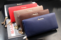 FREE SHIPPING 2014 New Genuine leather women wallets purse wholesale