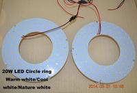 20W Magnetic Led Ceiling Lighting For Home 110V 220V 240V 180mm Diameter Aluminum Board Led Panel lights Lamp Pure white