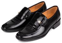 in stock! 2014 new men dress shoes men genuine leather shoes oxford shoes for men business shoes men, size:38-44 hot sale!