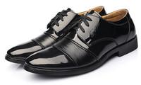 in stock! 2014 new men dress shoes men genuine leather shoes oxford shoes for men business shoes men, size:38-43