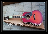 2014 Custom Guitar Shop New Arrival GB Hummingbird HS 6 Strings Electric Acoustic Guitar With Fisherman Pickups free shipping