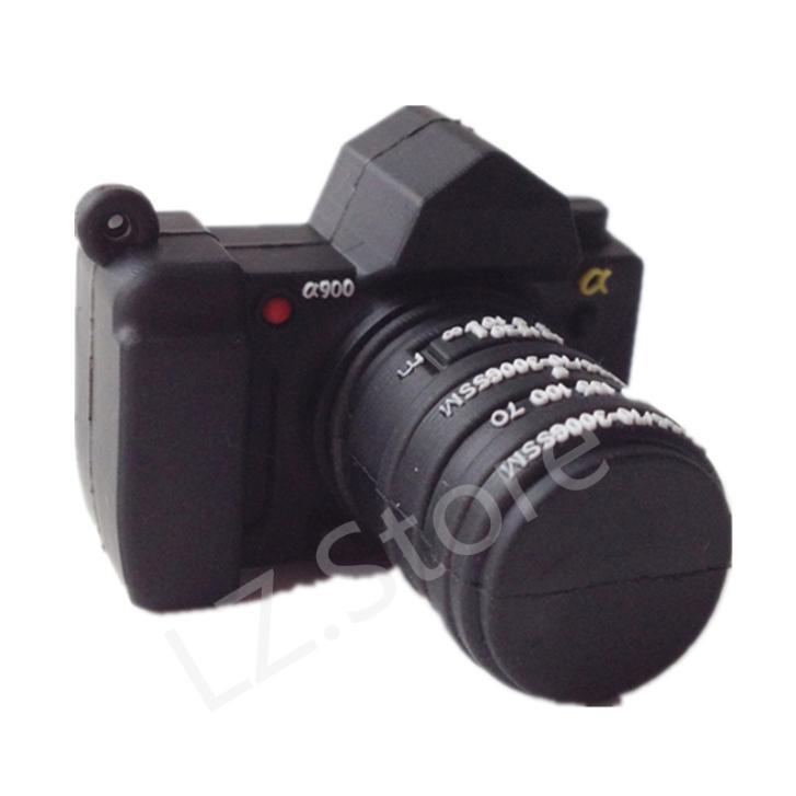 Wholesale Pen Drive Cartoon camera photo gift 4GB 8GB 16GB 32GB 64GB Camera Usb Flash Drive Pendrive Free Shipping(China (Mainland))