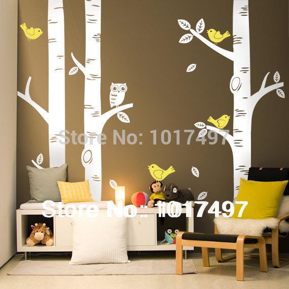 Vinyl wall tree decals