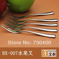 Fruit fork fruit sign stainless steel fork small fork fruit tools quality